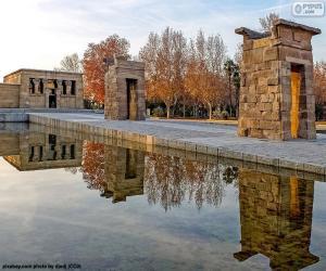 Puzle Templo de Debod, Madrid