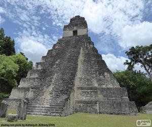 Puzle Templo I de Tikal, Guatemala