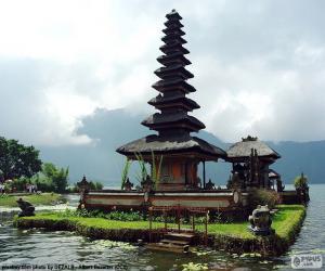 Puzle Templo Ulun Danu Bratan, Bali