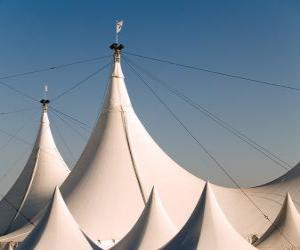 Puzle Tendas dum circo
