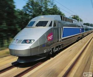 Puzle TGV, França