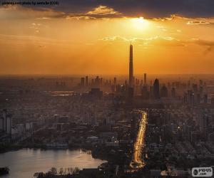 Puzle Tianjin, China