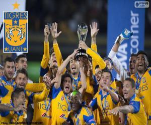 Puzle Tigres UANL, campeão México 2015