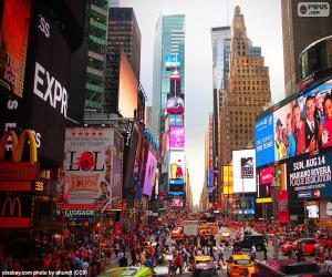 Puzle Times Square, Nova Iorque