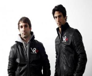 Puzle Timo Glock e Lucas di Grassi, piloto da Scuderia Virgin Racing