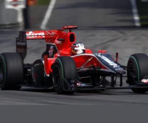 Puzle Timo Glock - Virgem - Monza 2010