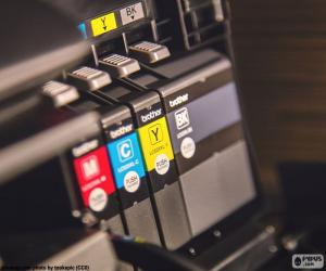 Puzle Tintas para impressora
