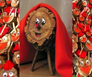Puzle Tió de Nadal (Natal), uma  tradição catalão, occitano e do Alto Aragão