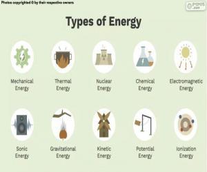 Puzle Tipos de energia