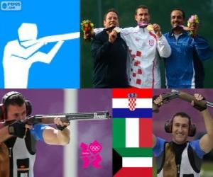 Puzle Tiro fossa olímpica masc LDN 2012