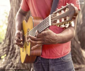 Puzle Tocar guitarra