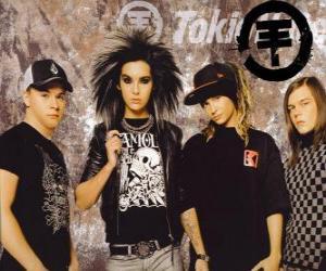 Puzle Tokio Hotel é um grupo de jovens musical de pop rock, nascido na Alemanha é constituída por Bill Kaulitz, Tom Kaulitz, Gustav Schäfer e Georg Listing.