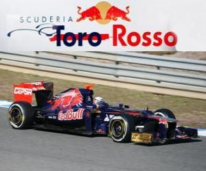 Puzle Toro Rosso STR7 - 2012 -