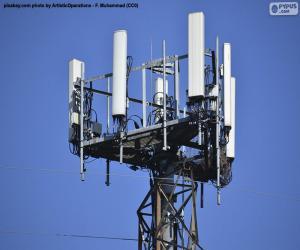 Puzle Torre de telecomunicações 5g