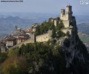 Puzle Torre Guaita, San Marino