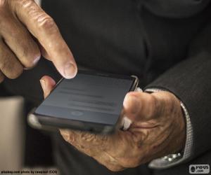 Puzle Trabalhando com o celular