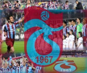 Puzle Trabzonspor AS, time de futebol turco