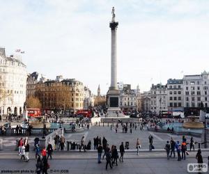 Puzle Trafalgar Square, Londres
