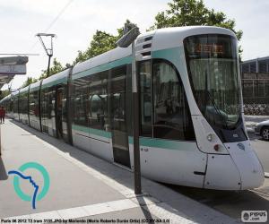 Puzle Tramway da Île-de-France (Paris)