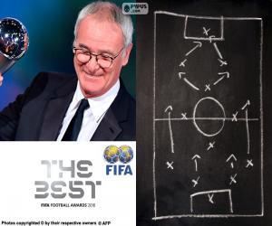 Puzle Treinador do ano FIFA 2016