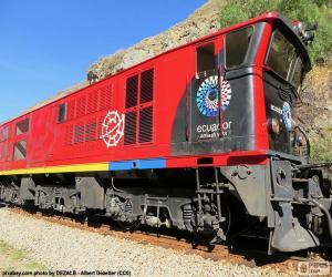 Puzle Trem Andino do Equador