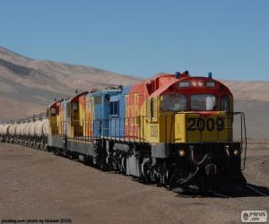 Puzle Trem de carga, Chile