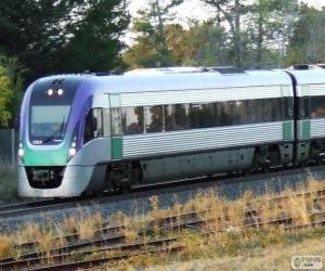 Puzle Trem de passageiros VLocity, Austrália