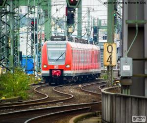 Puzle Trem regional