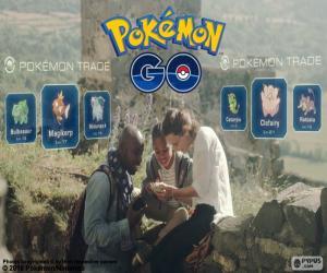Puzle Troca de Pokemon GO