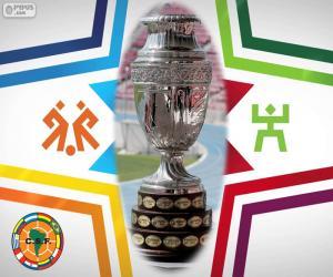 Puzle Troféu Copa América 2015