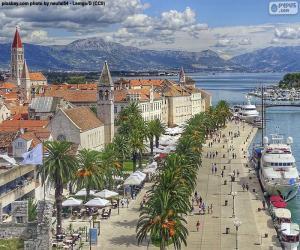 Puzle Trogir, Croácia