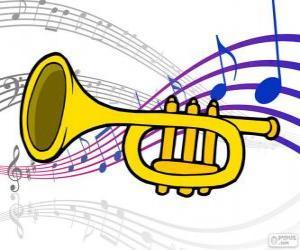 Puzle Trompete