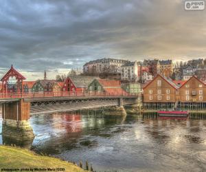 Puzle Trondheim, Noruega