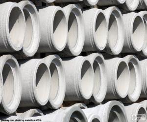 Puzle Tubos de concreto