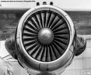 Puzle Turbina de avião