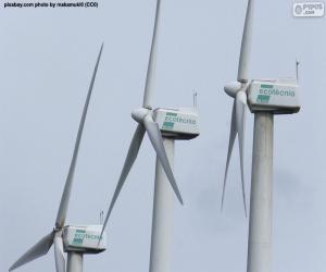 Puzle Turbinas eólicas