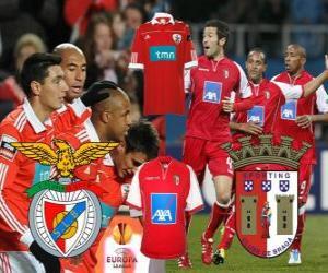 Puzle UEFA Europa League 2010-11 semi-final, o Benfica - Braga