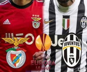 Puzle UEFA Europa League, meia-final 2013-14, Benfica - Joventus