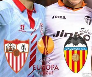 Puzle UEFA Europa League, meia-final 2013-14, Sevilla - Valencia