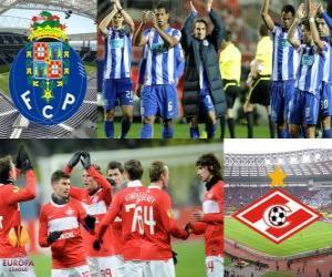 Puzle UEFA Europa League, quartas-de-final em 2010-11, o FC Porto - Spartak Moscou