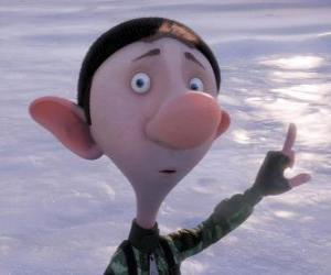 Puzle Um elfo de Natal do filme Operação Presente - Arthur Christmas