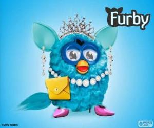 Puzle Um Furby muito elegante