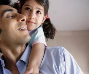 Puzle Um grande abraço para o pai é o melhor presente