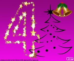 Puzle Um Natal, número 4