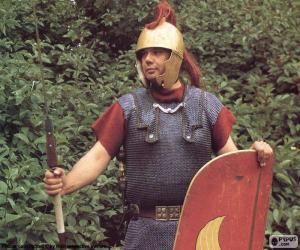 Puzle Um soldado romano