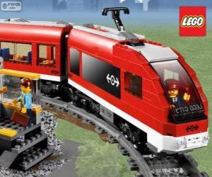 Puzle Um trem de Lego