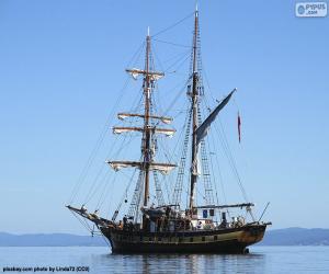 Puzle Um veleiro