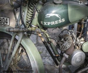 Puzle Uma bicicleta velha