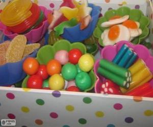 Puzle Uma caixa de doces