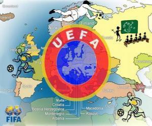 Puzle União das Federações Europeias de Futebol (UEFA)